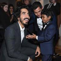 Dev Patel and Sunny Pawar
