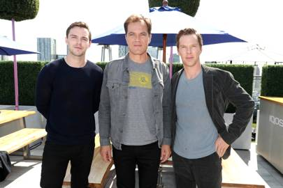 Nicholas Hoult, Michael Shannon and Benedict Cumberbatch