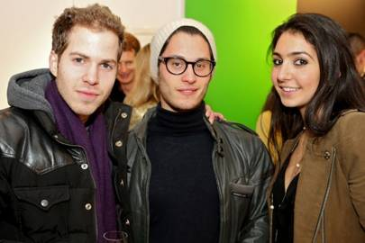 Toby Weinberg, James Ravden and Dana Black