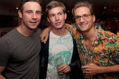 Charlie Schofield, Freddie Dunlop and Oliver Proudlock