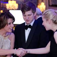 Natasha Kaplinsky and George Williamson