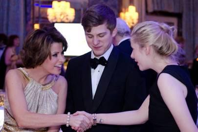 Natasha Kaplinsky and George Williamson