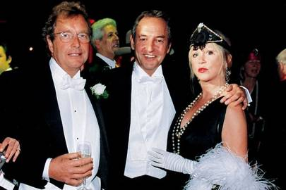 Piers von Simson, Rod Weston and Patti Boyd