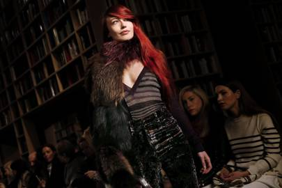 Sonia Rykiel's Paris Fashion Week show, March 2015