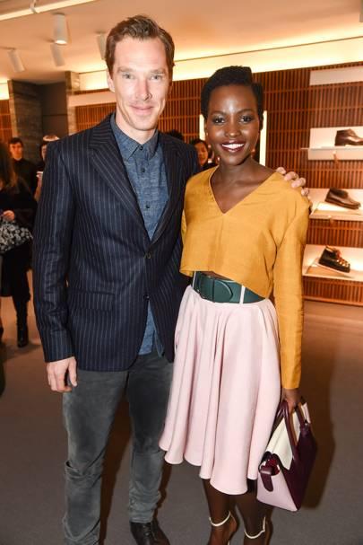 Benedict Cumberbatch and Lupita Nyongo