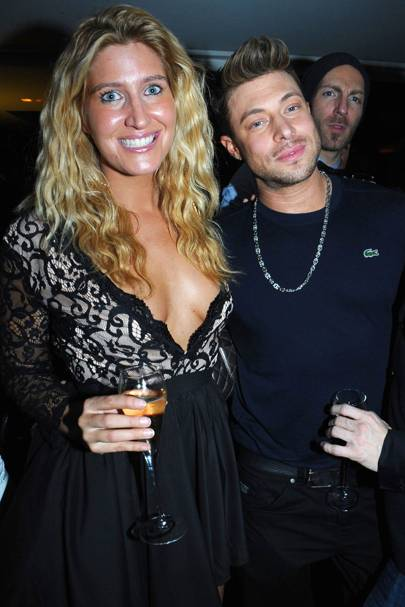 Cheska Hull and Duncan James