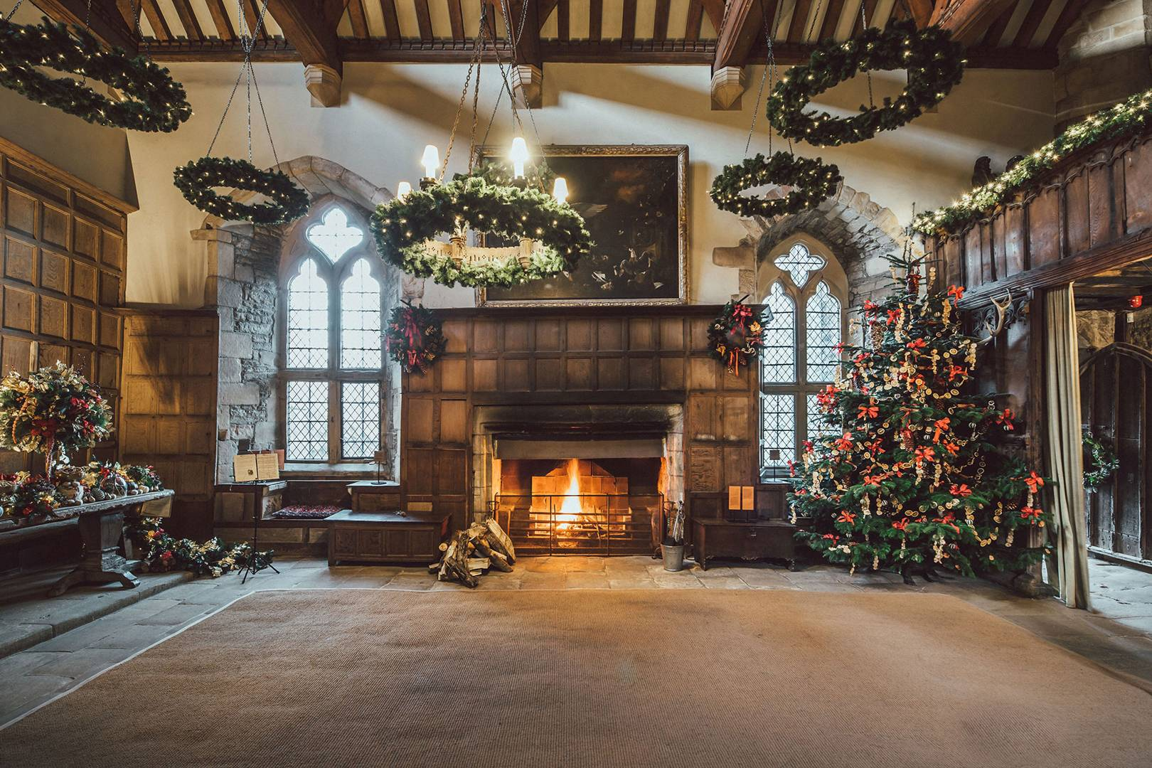 How Britain S Finest Stately Homes Do Christmas Highclere