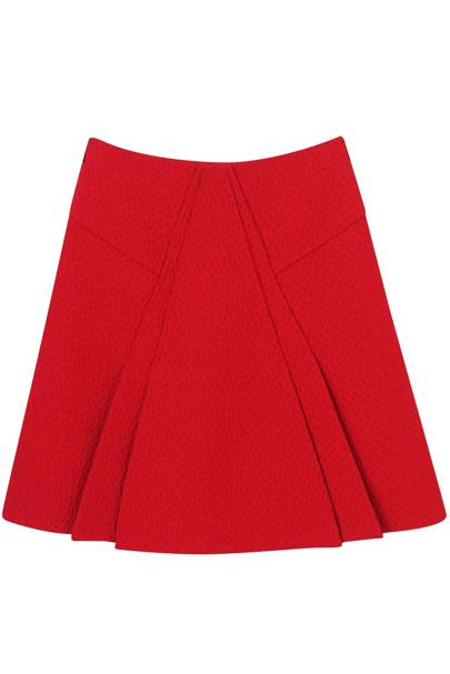 Wool skirt, £695, by Roland Mouret