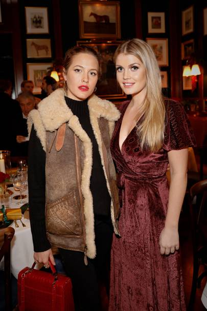 Tess Ward and Lady Kitty Spencer