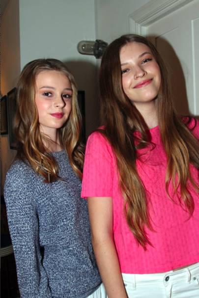 Sarah Exall and Gabrielle Konopo