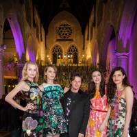 Lara Mullen, Christopher Kane, Evangeline Ling, Diana Khullina and Millie Brady