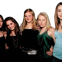 Alice Graham, Poppy Regan, Lil Jackson, Sophie Sutton and Lucy Nelson
