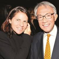 Lady Tang and Sir David Tang