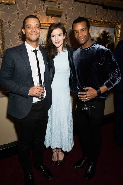 Jacob Anderson, Aisling Loftus and Osiel Gouneo