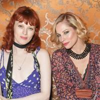 Karen Elson and Sienna Guillory