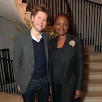 Christopher Bailey and Baroness Amos