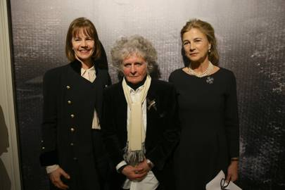 Deborah Bull, Maggi Hambling and The Duchess of Wellington