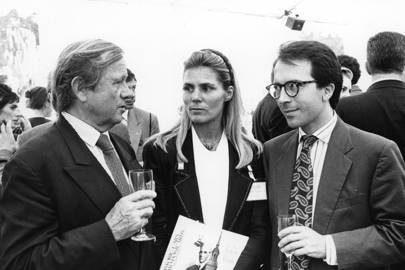 Prince Jean Poniatowski, Mrs Henry Bertrand and Jean Marc Loubier
