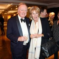 Andrew Parker Bowles and Annabel Elliot