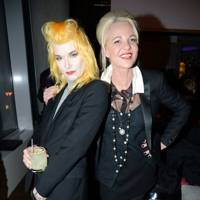 Pam Hogg and Amanda Eliasch