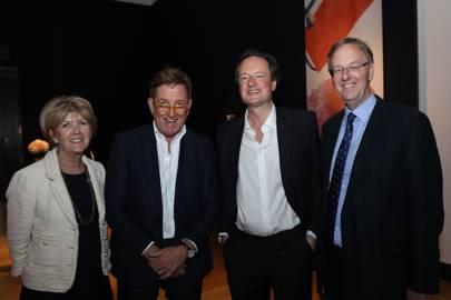 Gilly Johnston, Johnnie Boden, Jamie Blackett and Andrew Johnston