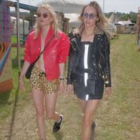 Immy Waterhouse and Suki Waterhouse