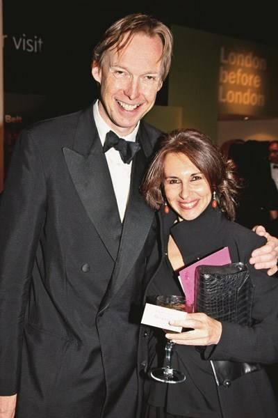 The Hon James Stourton and Maxine Davidson