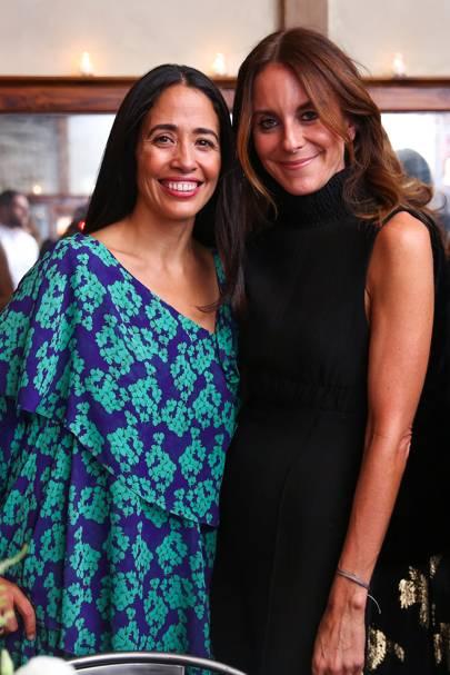Carmen Borgonovo and Alison Loehnis
