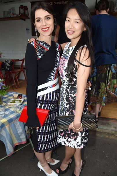 Lara Bohinc and Mimi Xu