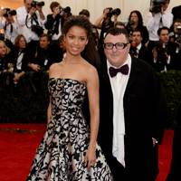 Gugu Mbatha-Raw and Alber Elbaz