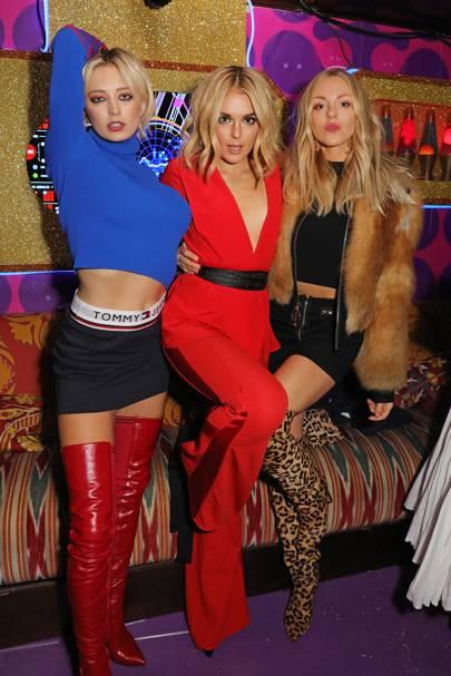Caroline Vreeland, Tallia Storm and Shea Marie