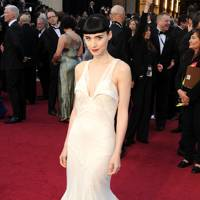 Rooney Mara wearing Givenchy Haute Couture in 2012