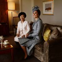 Mary Chee Bee Kiang and the Duchess of Cambridge
