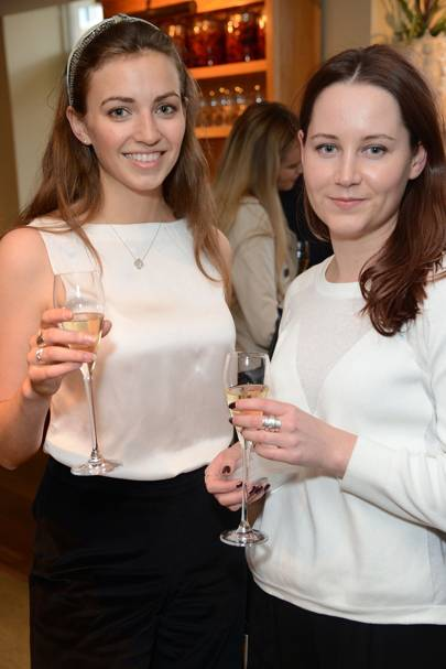 Phoebe Gormley and Hannah Langley