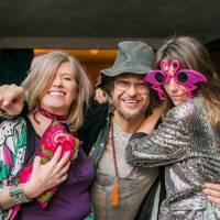Angie Tennant, Mark Fosbery and Iona Buxton