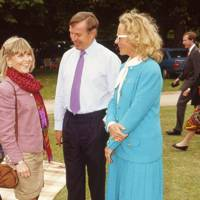 Rosie Marchioness of Northampton, Simon Keswick and Princess Michael of Kent