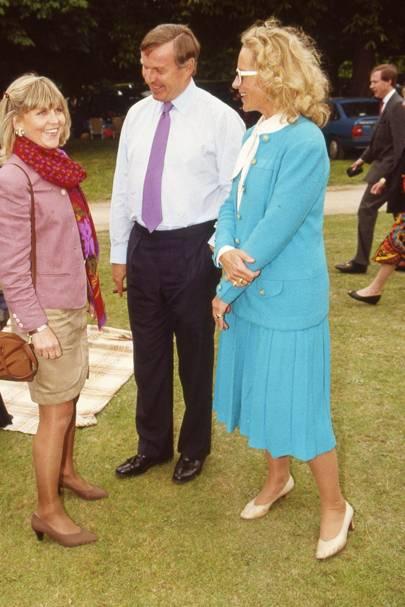 The Fourth of June - Jemima Khan & Princess Michael of Kent ...