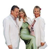 Nick Morris, Mrs Leo Zambeletti and Emma Woolard