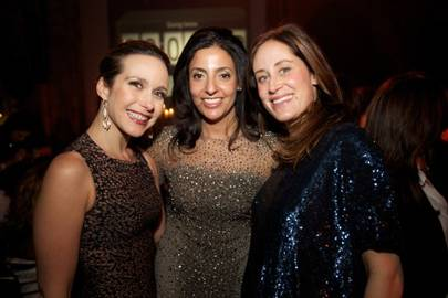 Julia Leal Hartogs, Sherine Sawiris and Camila Panahizadi