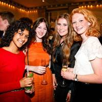 Iram Hassan, Emma Pickup, Hannah Redman and Rosanna Younger