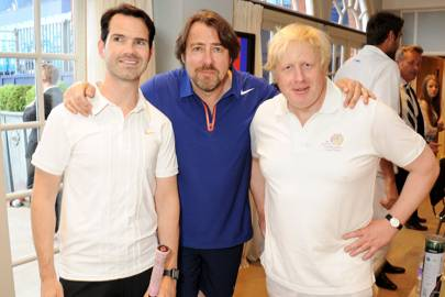 Jonathan Ross, Jimmy Carr and Boris Johnson