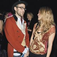 Humphrey Ker and Jessica Palmer-Tomkinson