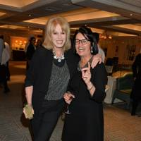 Joanna Lumley and Wasfi Kani