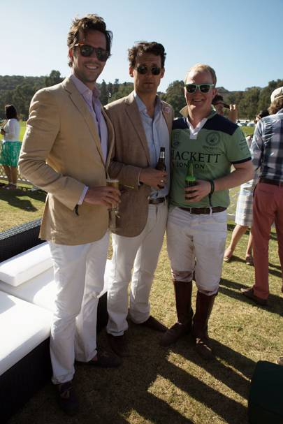 David Walton, Nicholas Leeds and Tristan Phillimore