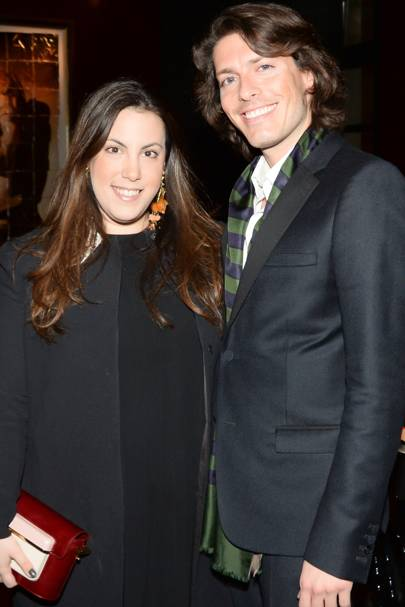 Mary Katrantzou and Edgardo Osorio