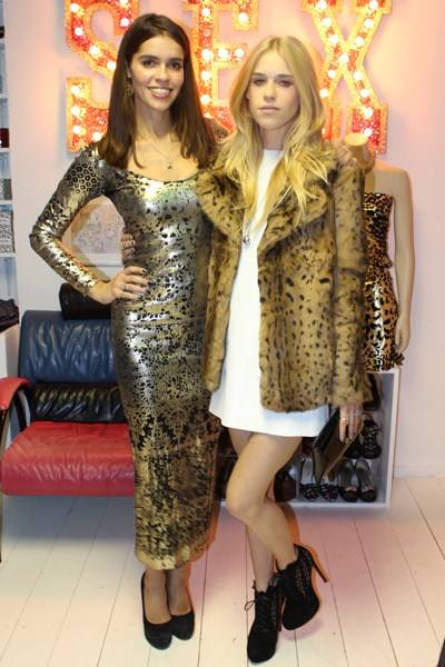 Karen Clarkson and Mary Charteris