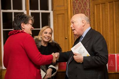Carole Walford, Merrill Powell and Lord Fellowes