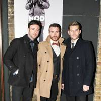 Mark Franks, Darren Everest and Mike Crawshaw
