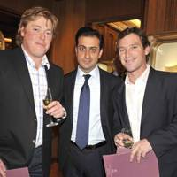 Chris Hyde, Mr Kassem Shafi and Vieri Antinori