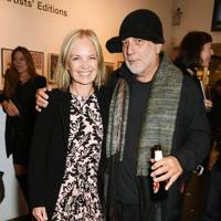 Mariella Frostrup and Ron Arad